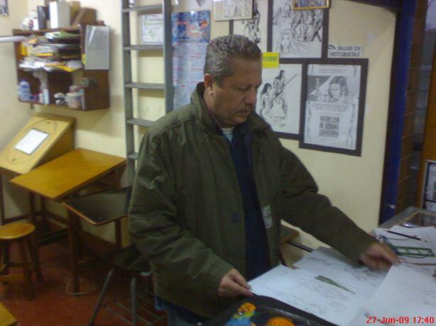 Carlos Crisostomos en Doble C Studios